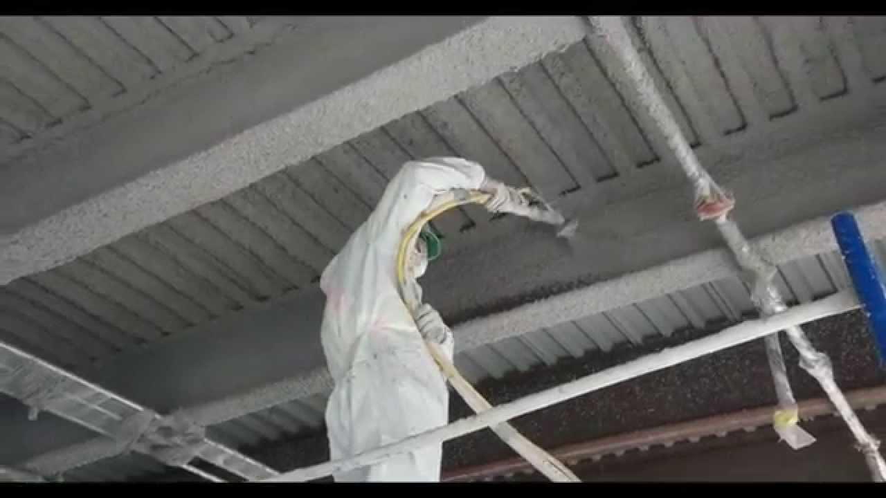 fireproof spray foam insulation