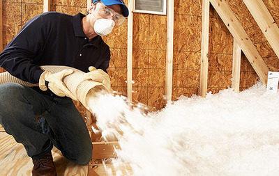 blown-in-insulation